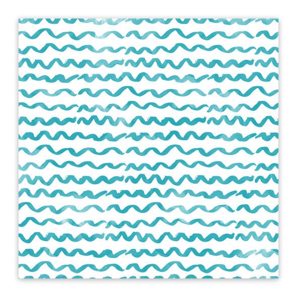 Vellum | Waves 8x8