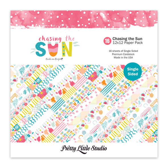 Paper Pack | Chasing the Sun 12x12 (single-sided)