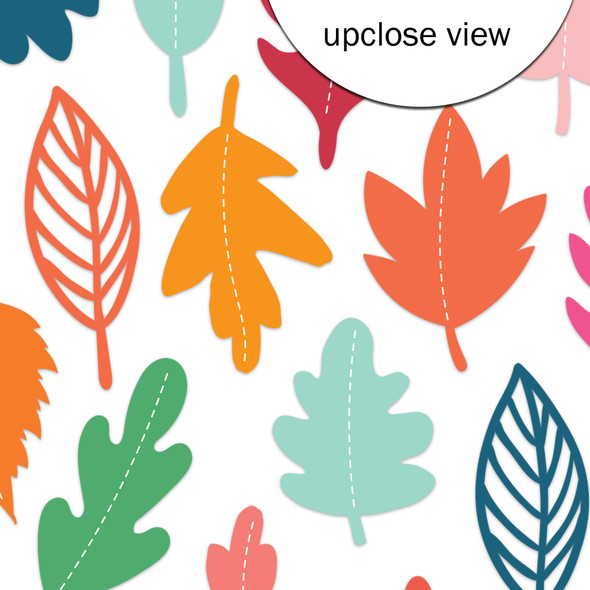 Die-Cuts | Indian Summer Leaves | Vellum