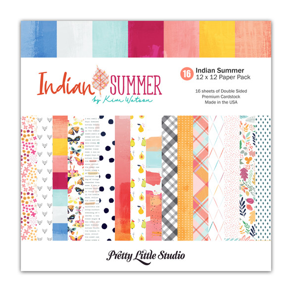 Paper Pack | Indian Summer 12x12 (double-sided)