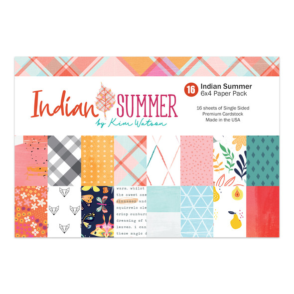 Paper Pack | Indian Summer 4x6 (single-sided)