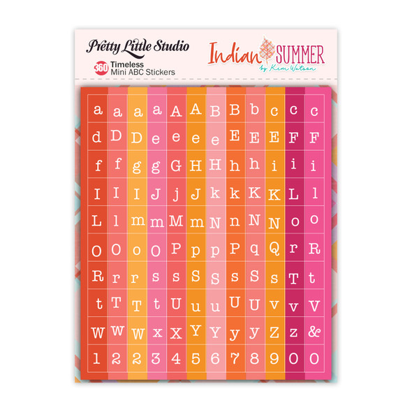Stickers | Mini ABC | Timeless (3 pack)