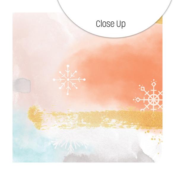Paper   Frozen Sky 12x12 (single-sided)