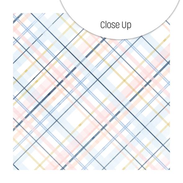Paper | Plush Plaid 12x12  (single-sided)