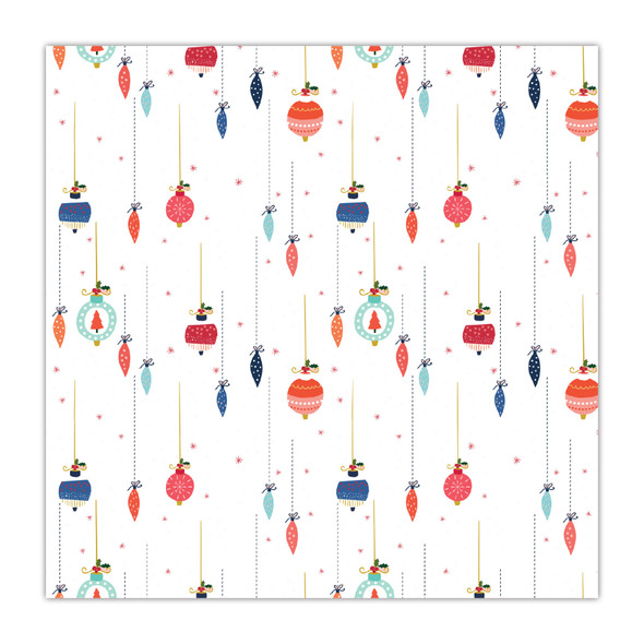Paper | Pretty Baubles 12x12 (single-sided)