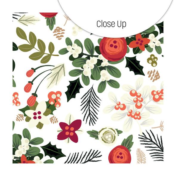 Paper | Under the Mistletoe 12x12 (single-sided)