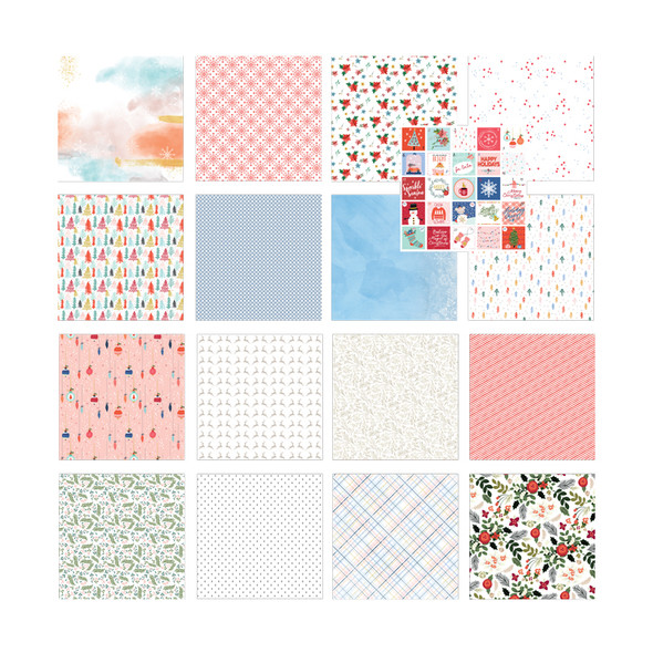 Paper Pack | Glitter Ice 12x12 (Single-Sided)