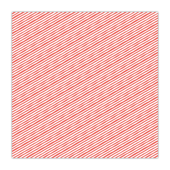 Clear | Candy Stripe 8x8