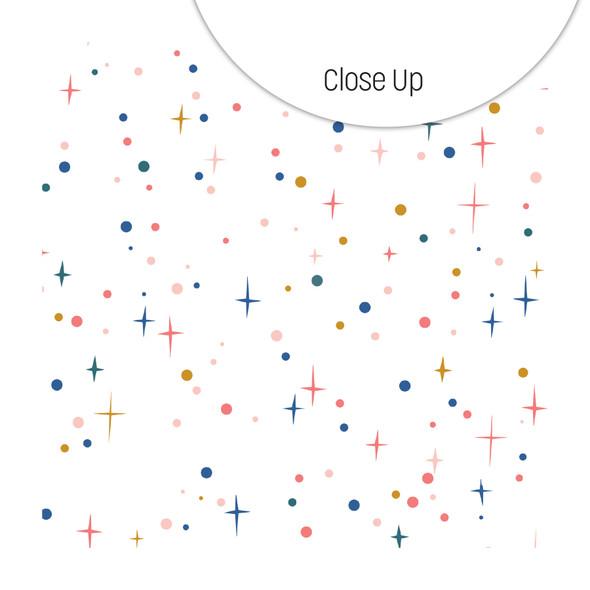 Clear | Sparkle Lights 8x8