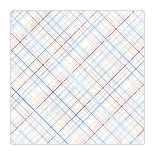 Paper | Plush Plaid 8x8