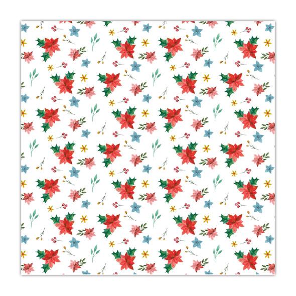 Paper | Poinsettia 8x8