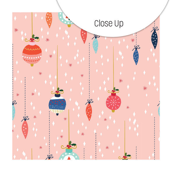 Paper | Pretty Baubles | Pink 8x8