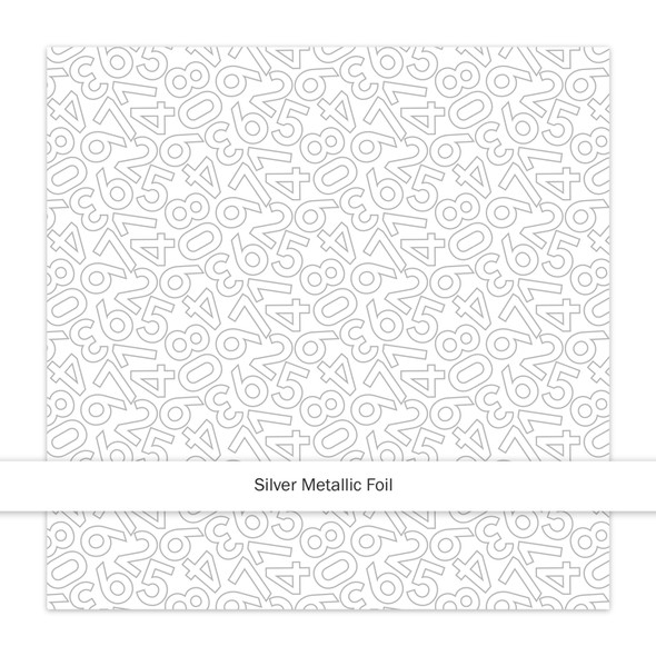 Metallic Clear   Countdown   Silver
