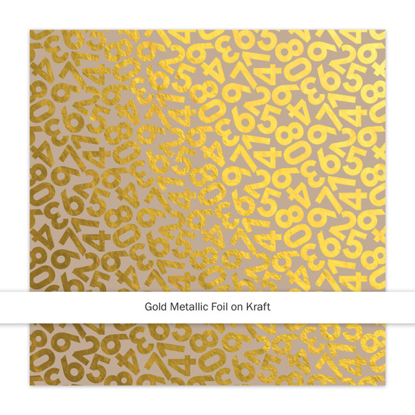 Metallic Kraft | Countdown | Gold