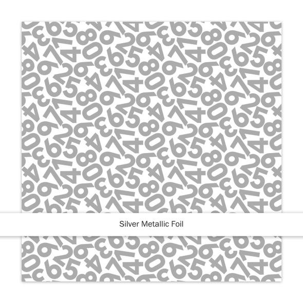 Metallic Paper | Countdown | Silver