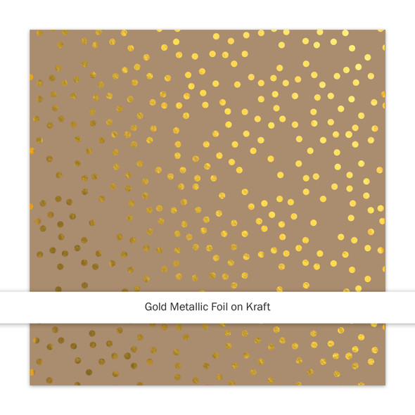 Metallic Kraft | Christmas Sprinkles | Gold
