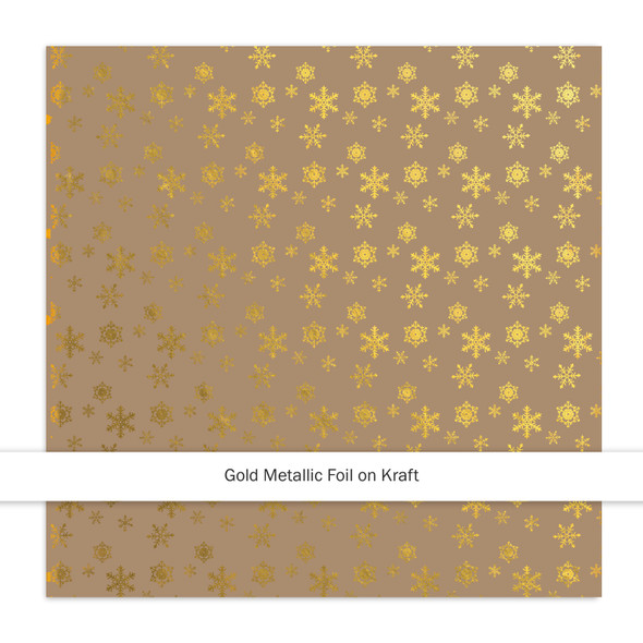 Metallic Kraft   Sparkle & Bright   Gold