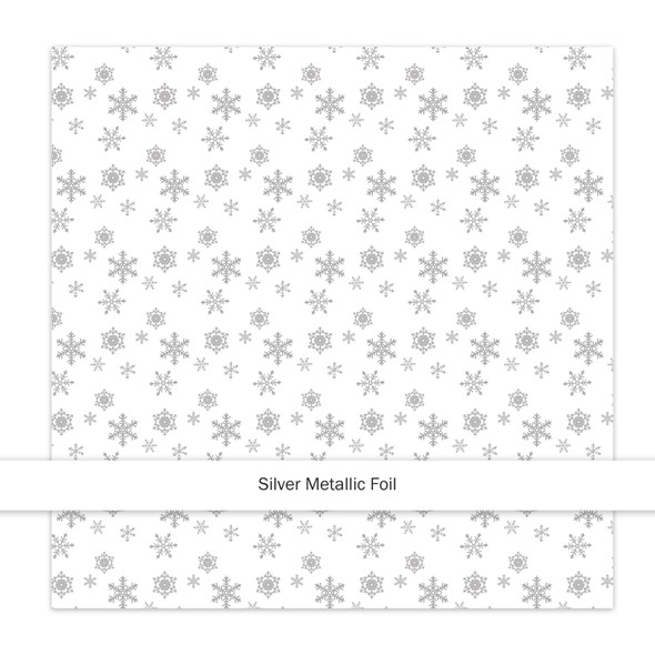 Metallic Paper | Sparkle & Bright | Silver
