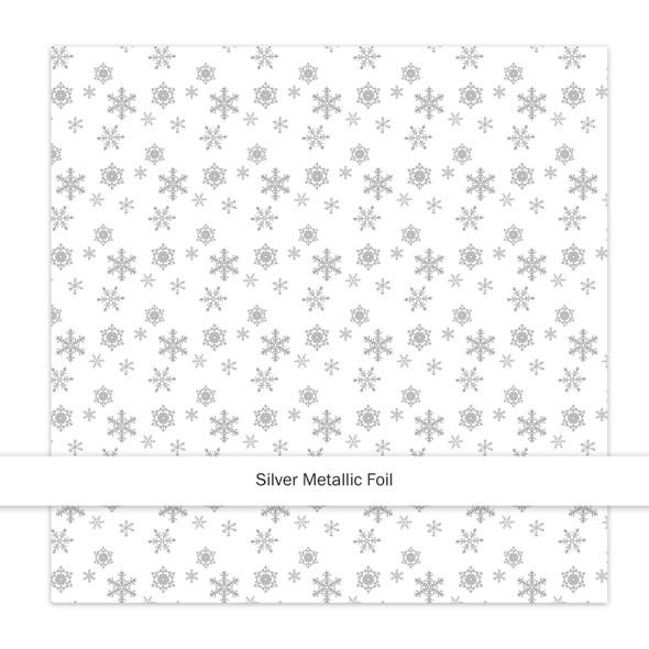 Metallic Paper   Sparkle & Bright   Silver