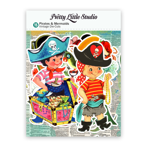 Die-Cuts | Pirates & Mermaids (pack)