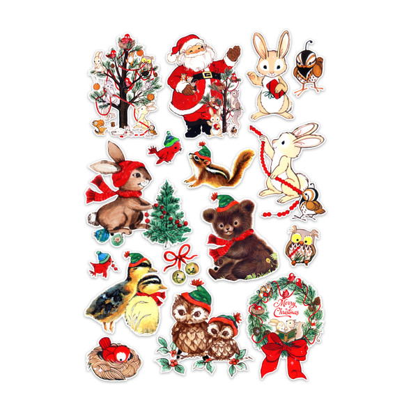 Die-Cuts | Woodland Christmas (pack)