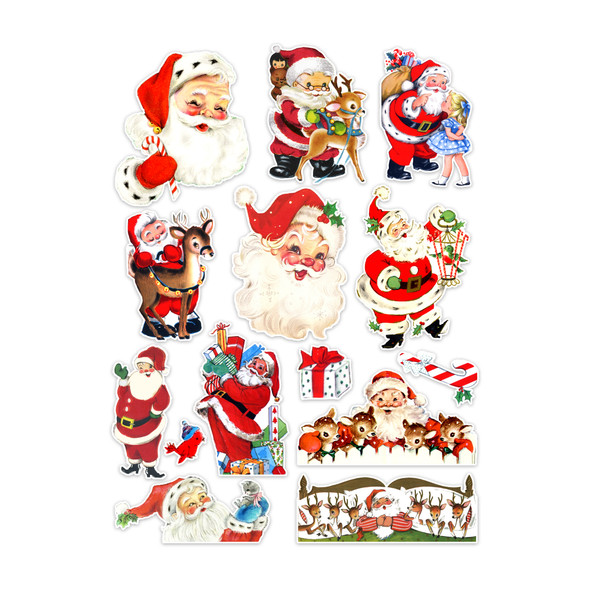 Die-Cuts | Jolly Santa (pack)