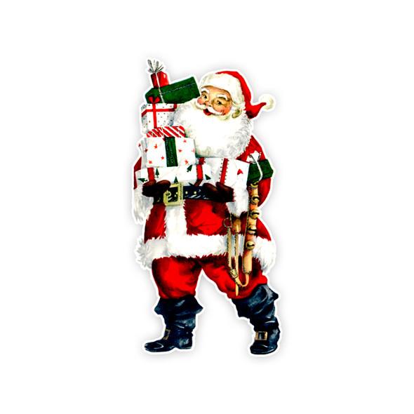 Vintage Die-Cut | Santa #26 | 6 inch