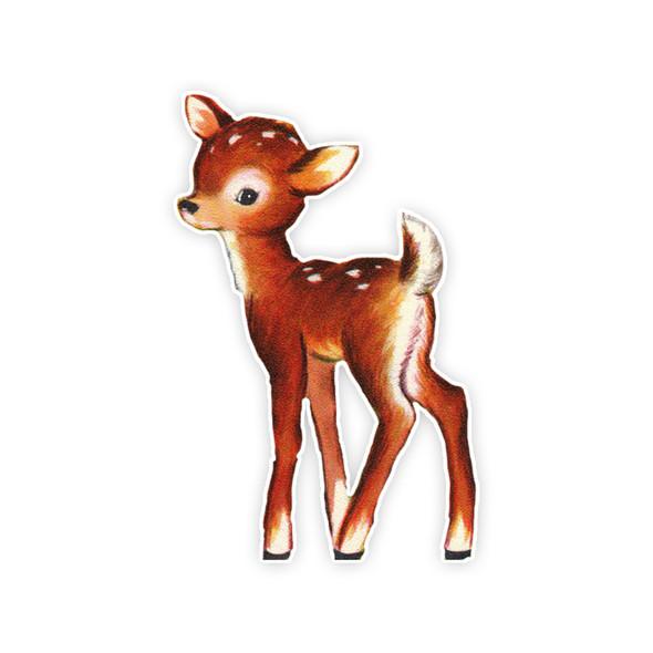 Vintage Die-Cut | Felicity Deer | 6 inch