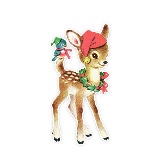 Vintage Die-Cut | Joy Deer