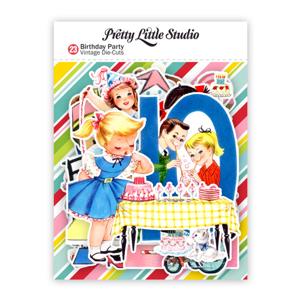 Die-Cuts | Birthday Party (pack)