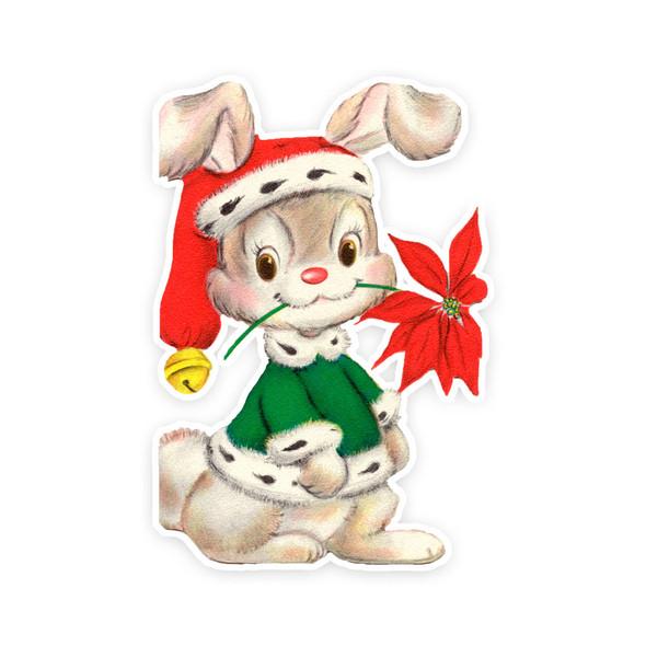 Vintage Die-Cut | Tinsel Bunny