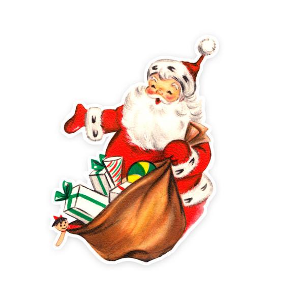 Vintage Die-Cut | Santa #28