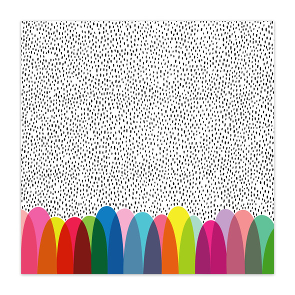 Clear | Polka Dot Party 8x8