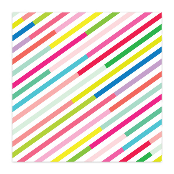 Vellum | Candy Stripes 2 | 8x8