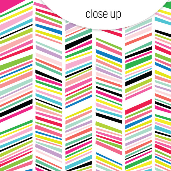 Vellum | Rainbow Parade 8x8