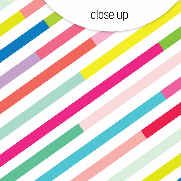 Paper   Candy Stripes 12x12 (single-sided)