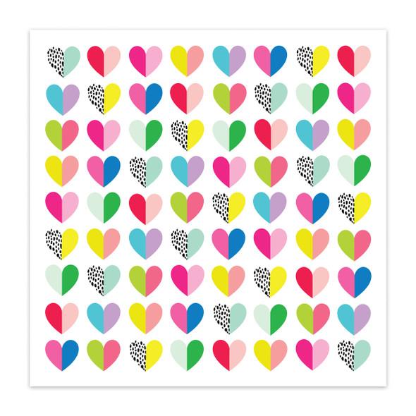 Paper | Heart Eyes 12x12 (single-sided)