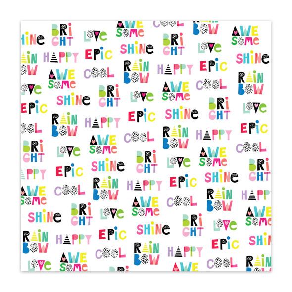 Paper | Word Jumble 12x12 (single-sided)