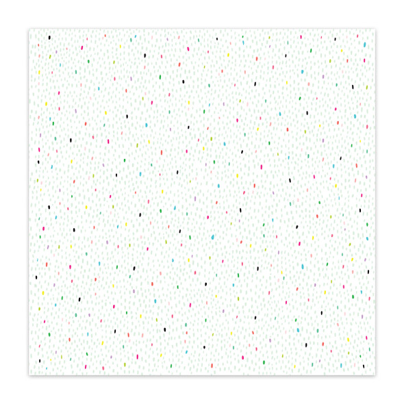 Paper | Yummy Sprinkles 12x12 (single-sided)