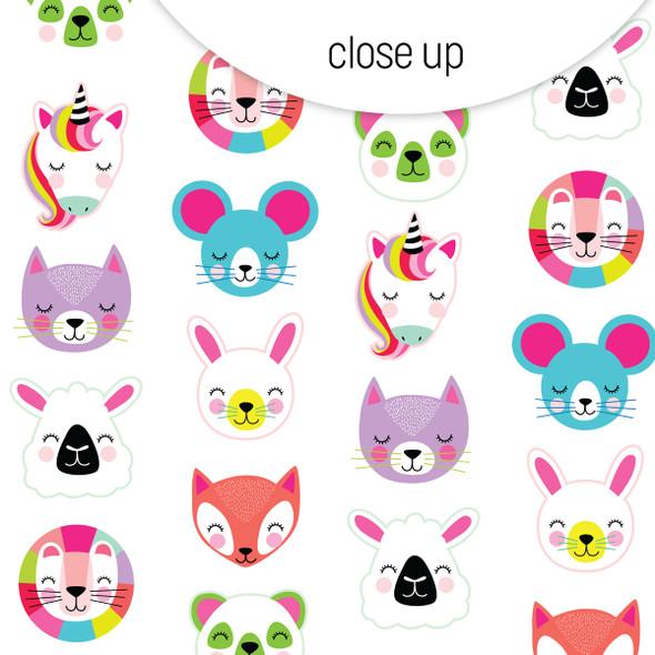 Paper | Cute Critters 8x8