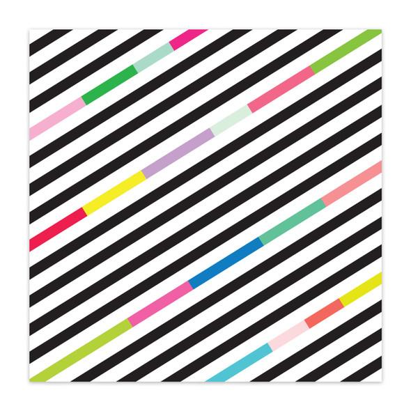 Paper | Zany Zebra 8x8