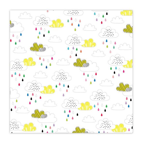 Paper | No Rain No Rainbows 12x12 (single-sided)