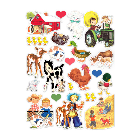Die-Cuts | Farm (pack)