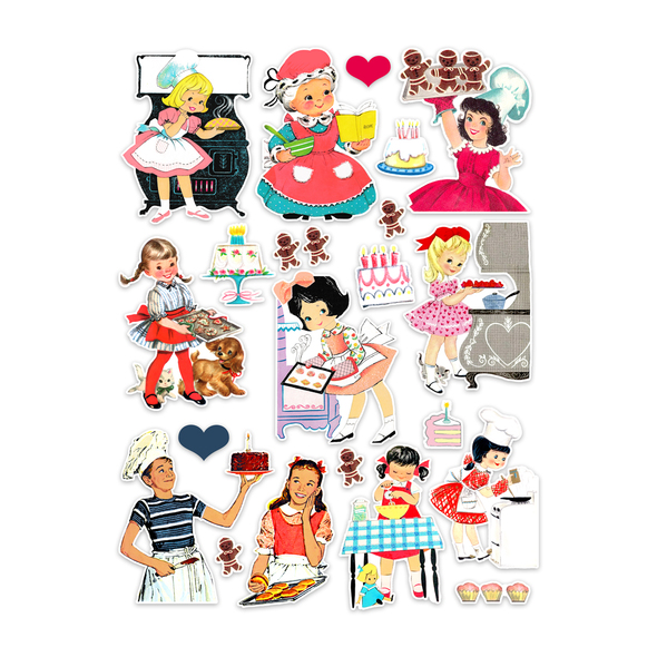 Die-cuts | Baking (pack)