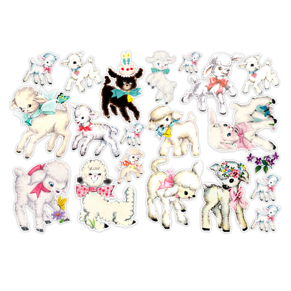 Die-cuts | Little Lamb (pack) | Large