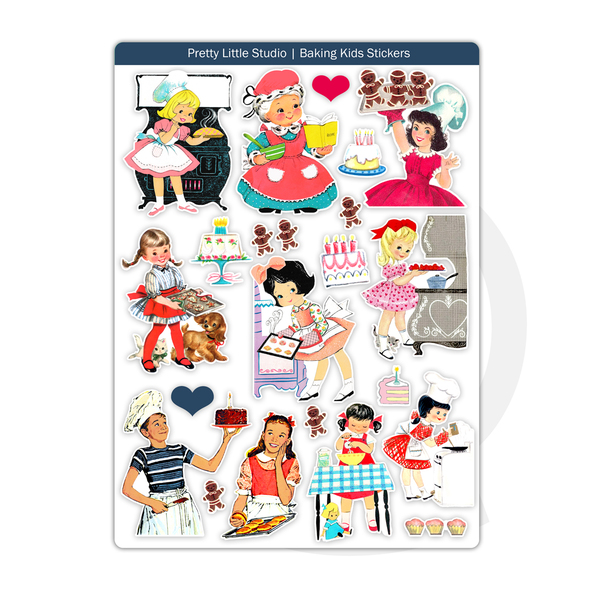 Stickers | Baking Kids (vintage)