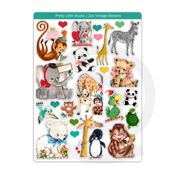 Stickers | Zoo (vintage)