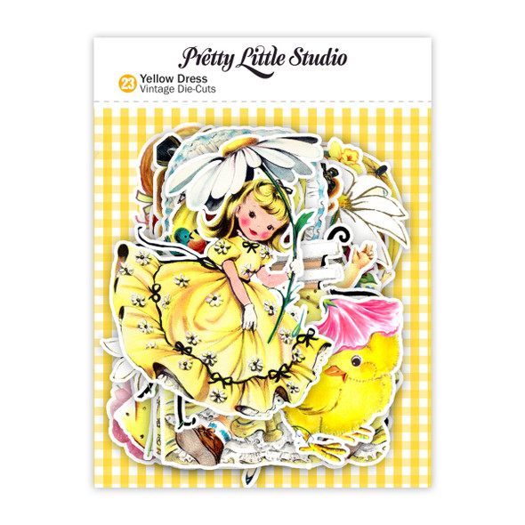 Die-cuts | Yellow Dress (pack)
