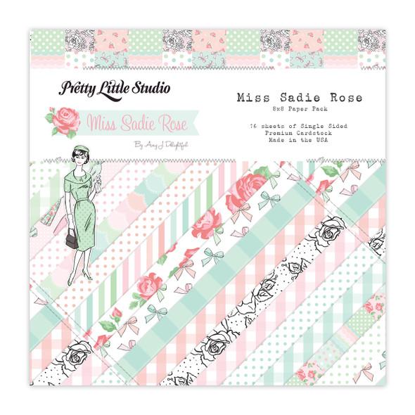 Paper Pack | Miss Sadie Rose 8x8