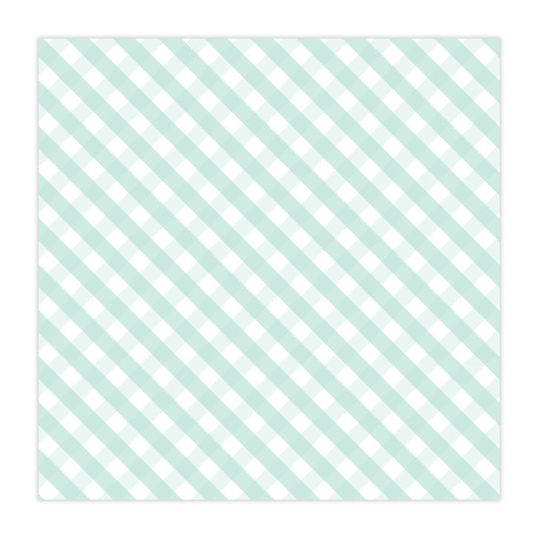 Vellum | Darling | Mint 8x8